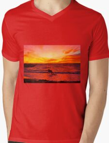 Sun Catcher Mens V-Neck T-Shirt