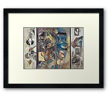 Visible Traces (Remnants of Presence) Framed Print