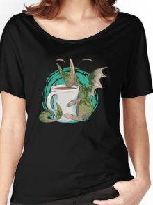 Domestic Dragons: Tea Lover Women's Relaxed Fit T-Shirt