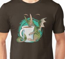 Domestic Dragons: Tea Lover Unisex T-Shirt