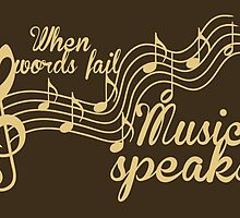 When words fail music speaks by augustinet