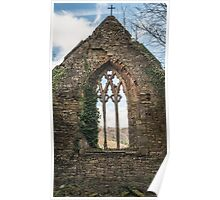 The Old Church Wall Poster