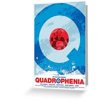 Quadrophenia - Movie Poster Greeting Card