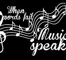 When words fail music speaks-Black and white by augustinet
