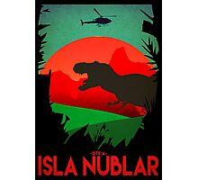 Isla Nublar - Site A - Tyrannosaurus Rex - T-REX  Photographic Print