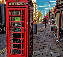 English Red Phone Box by BritishYank
