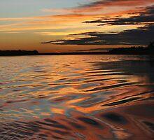 Amazonian sunset by Robin Loveridge