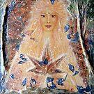 autumn goddess by Lilaviolet