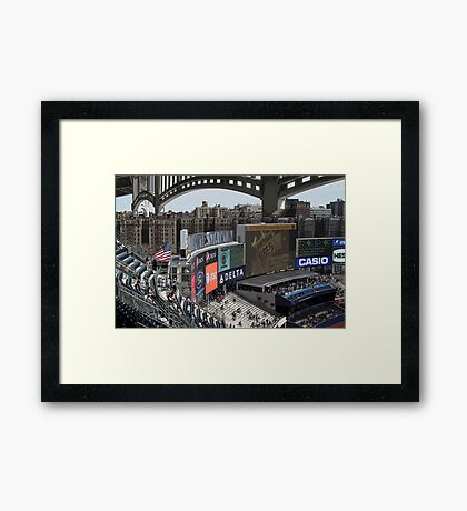 New Stadium, Old Bronx Framed Print