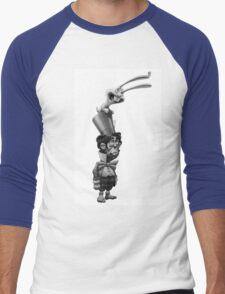 HAT HARE Men's Baseball ¾ T-Shirt