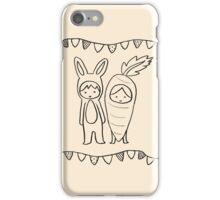 A Matching Pair - Cream iPhone Case/Skin