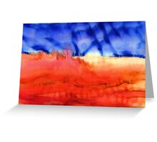 Sky by Night Greeting Card