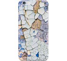 Textured peeling paint  iPhone Case/Skin