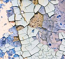 Textured peeling paint  by lightwanderer