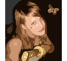 Butterfly Warrior Photographic Print