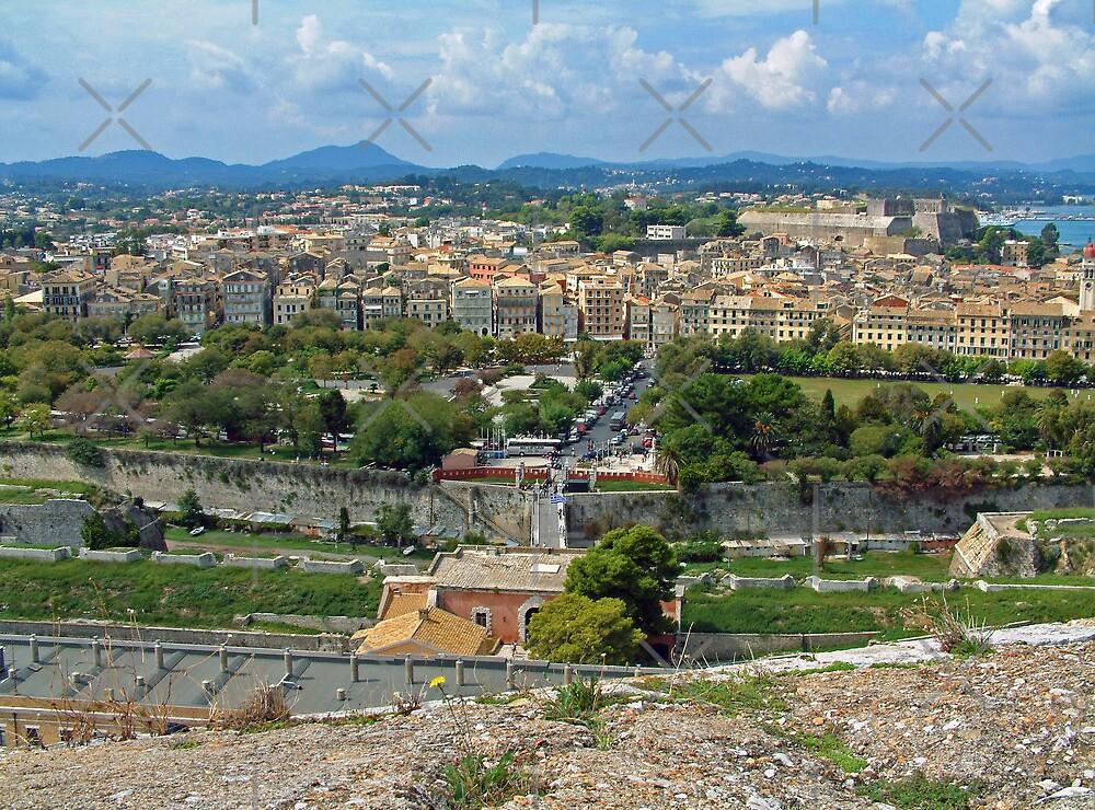 Corfu Town by Tom Gomez