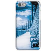 Walking The Tracks iPhone Case/Skin