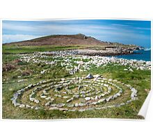 Stone Ring on Bryher Poster