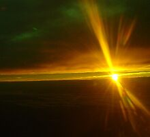 Sunset From  Above by BaZZuKa