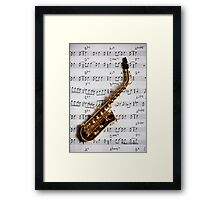 Just One Note Framed Print