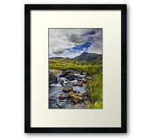Mountain Breeze Framed Print