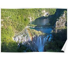 Plitvice Lakes Croatia Poster