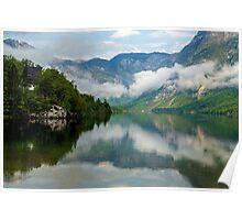 Morning at Lake Bohinj Poster