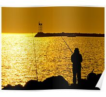 A Time To Fish Poster