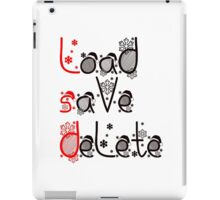 LSD - Load, save, delete iPad Case/Skin