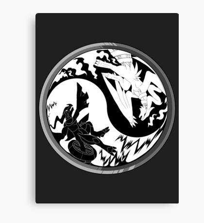 Pokemon Taoism edition Canvas Print