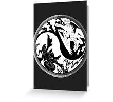 Pokemon Taoism edition Greeting Card