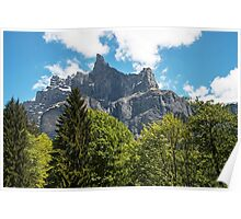 Fer a Cheval Nature Reserve French Alps Poster