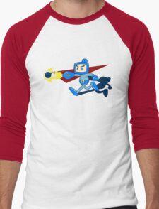 The Blue Bomber (man) Men's Baseball ¾ T-Shirt