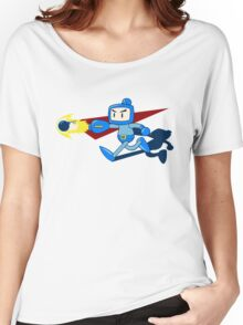 The Blue Bomber (man) Women's Relaxed Fit T-Shirt