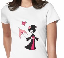 Happy Sun Geisha Womens Fitted T-Shirt