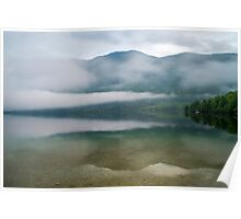 Lake Bohinj Slovenia Poster