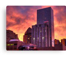 Good Morning Denver Canvas Print