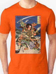 Two Samurai warriors in close combat Unisex T-Shirt