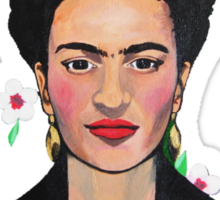 Frida in the Flowers Tee Sticker