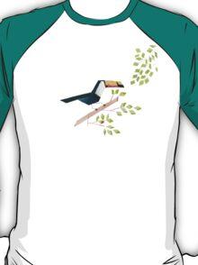 Low poly watercolor - Toucan T-Shirt