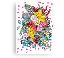 Blooming Wednesday Floral Canvas Print