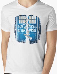 The walking Angels Mens V-Neck T-Shirt