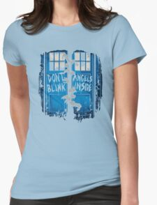 The walking Angels Womens Fitted T-Shirt