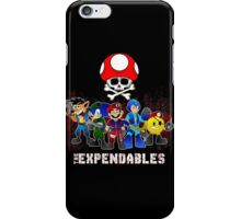 the expendables iPhone Case/Skin