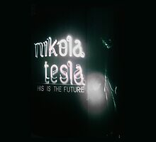 Nikola Tesla by theladyinred