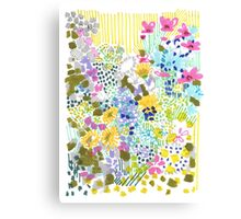 Floral Garden 2 Canvas Print