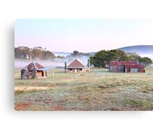 Coolamine Homestead Dawn, Kosciusko National Park, Australia Canvas Print