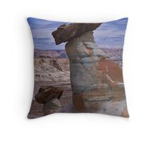 Arizona HooDoo's Throw Pillow
