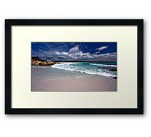 Bay of Fires - Tasmania Framed Print