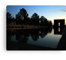 Oklahoma City National Memorial Canvas Print